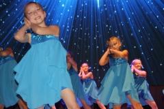 3 танец в голубом