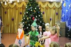 танец с елкой