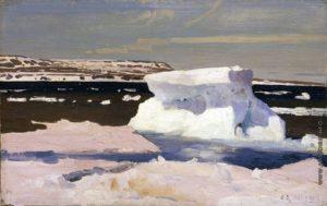Карское море. Вид Новой земли. 1901г