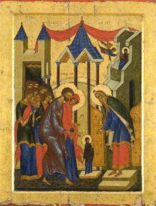 икона Введения во храм