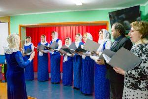 В исправительной колонии в Верхнем Чове прошел  Рождественский концерт