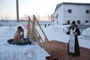 Осужденные исправительных колоний Республики Коми окунулись в ледяные купели