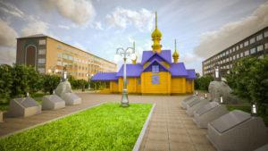 В Воркуте построят храм святой великомученицы Варвары
