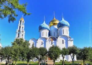 Съемки телевизионного проекта «Святыни России» продолжились в Московской области