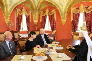 Вятскую епархию посетили родственники святого царя-страстотерпца Николая II