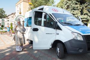 РПЦ открыла первую в Белоруссии мобильную службу помощи бездомным